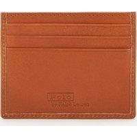 Polo Ralph Lauren Men's Smooth Leather Multi Cardholder - Tan