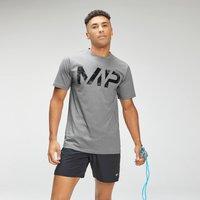 MP Men's Adapt Grit Graphic T-Shirt - Storm Grey Marl  - XXS