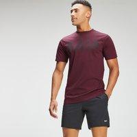 MP Men's Adapt Grit Graphic T-Shirt - Merlot Marl - XXL