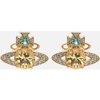 Vivienne Westwood Women's Ismene Earrings - Gold Light Turquoise