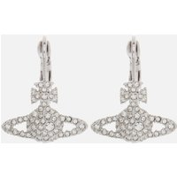 Vivienne Westwood Women's Grace Bas Relief Earrings - Rhodium Crystal