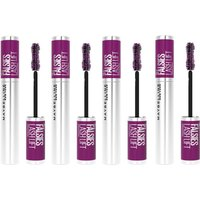 Maybelline The Falsies Instant Lash Lift Look Lengthening Volumising Mascara - 01 Black (Pack of 4)