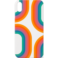 60s Geo Print Phone Case for iPhone and Android - iPhone 11 - Snap Case - Matte