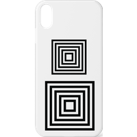 60s Geo Square Phone Case for iPhone and Android - iPhone 11 - Snap Case - Matte