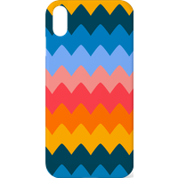 60s Zig Zag Phone Case for iPhone and Android - Samsung S7 - Snap Case - Matte