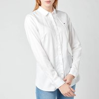 Tommy Hilfiger Women's Heritage Regular Fit Shirt - Classic White - S