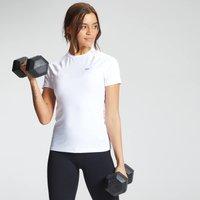 MP Women's Essentials Training Slim Fit T-Shirt - White - XS
