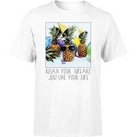 30th Birthday Pineapple Men's T-Shirt - White - 3XL - White