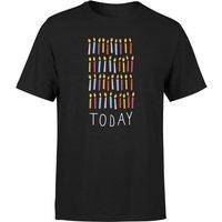 40 Today Mens T-Shirt - Black - XS - Black
