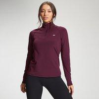 MP Women's Essentials Training Slim Fit 1/4 Zip - Port - L