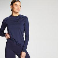 MP Women's Essentials Training Slim Fit Long Sleeve Top - Navy - XS