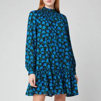 Kate Spade New York Womens Seascape Flora Shift Dress - Black - S