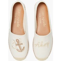 Kate Spade New York Women's Tippy Espadrilles - Parchment - UK 4