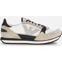 Emporio Armani Men's Running Style Trainers - Grey - UK 10