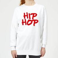 Hip Hop Women's Sweatshirt - White - S - White