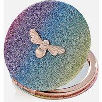 Olivia Burton Women's Rainbow Ombre Glitter Mirror - Multi