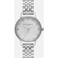 Olivia Burton Women's Classics Midi Dial Mop Bracelet Watch - Silver