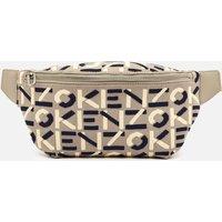 KENZO Women's Recycled Monogram Flyknit Belt Bag - Dove Grey