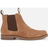 Barbour Men's Farsley Suede Chelsea Boots - Sand - UK 11