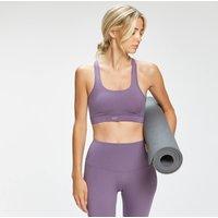 MP Women's Composure Twist Back Sports Bra - Smokey Purple  - M