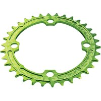 Race Face Single Narrow Wide 104 BCD Chainring - 34T - Green
