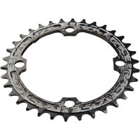 Race Face Single Narrow Wide 104 BCD Chainring - 36T - Black