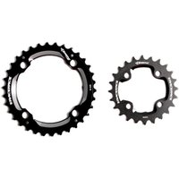 Race Face Set 4 Bolt 2x11 Speed 104/64 BCD Chainring - 24/34T