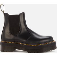 Dr. Martens 2976 Quad Polished Smooth Leather Chelsea Boots - Black - UK 6