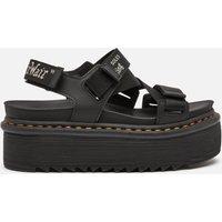 Dr. Martens Women's Kimber Quad Sandals - Black - UK 8