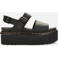 Dr. Martens Women's Voss Quad Double Strap Sandals - Black - UK 7