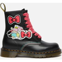 Dr. Martens X Hello Kitty Women's 1460 Leather Boots - Black - UK 4