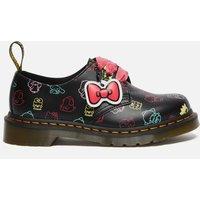 Dr. Martens X Hello Kitty Women's 1461 Leather 3-Eye Shoes - Black - UK 3