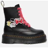 Dr. Martens X Hello Kitty Women's Jadon Leather Boots - Black - UK 4