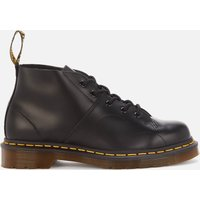 Dr. Martens Church Smooth Leather Monkey Boots - Black - UK 3
