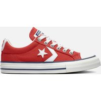 Converse Kids' Star Player Ox Trainers - Enamel Red - UK 10 Kids