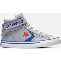 Converse Kids' Pro Blaze Hi - Top Trainers - Wolf Grey - UK 2 Kids