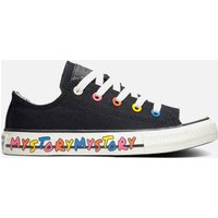 Converse Kids' Chuck Taylor All Star My Story Hi - Top Trainers - Black - UK 11 Kids