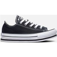 Converse Kids' Chuck Taylor All Star Eva Lift Ox Trainers - Black - UK 11 Kids