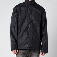 Barbour Mens Gelbin Wax Jacket - Navy - XXL