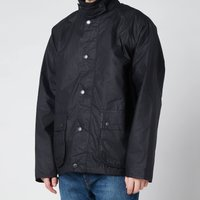 Barbour Mens Selbin Wax Jacket - Navy - XXL