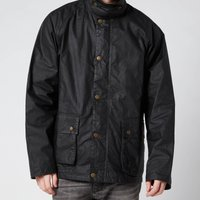 Barbour Mens Selbin Wax Jacket - Sage - L