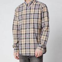 Barbour Mens Tartan 7 Tailored Shirt - Stone - M