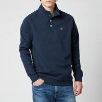 Barbour Men's Half Snap Sweatshirt - Navy - M