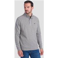 Barbour Men's Half Snap Sweatshirt - Grey Marl - M