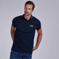 Barbour International Men's Essential Tipped Polo Shirt - Navy - XXL