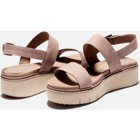 Timberland Women's Safari Dawn Flatform Sandals - Taupe - UK 4