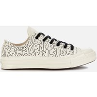 Converse Chuck 70 My Story Ox Trainers - Egret/Black - UK 6