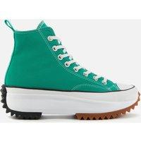 Converse Women's Run Star Hike Trainers - Court Green/White/Gum - UK 6