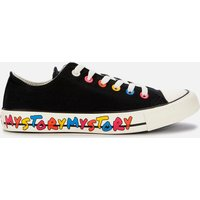Converse Women's Chuck Taylor All Star My Story Ox Trainers - Black/Hyper Pink/Egret - UK 6