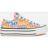 Converse Women's Chuck Taylor All Star My Story Platform Ox Trainers - Multi - UK 3